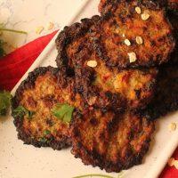 Low Carb Chicken & Veggie Kebabs