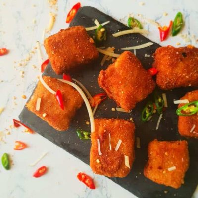 home made chili parmesan chicken nuggets recipe