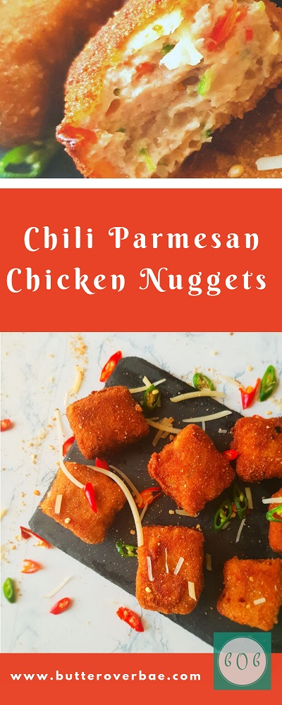 chili Parmesan chicken nuggets