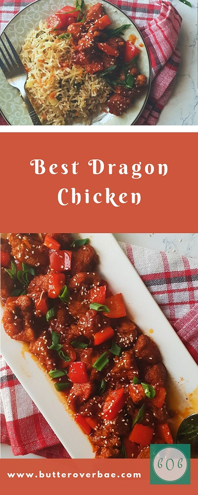 Best dragon chicken recipe pinterest pin