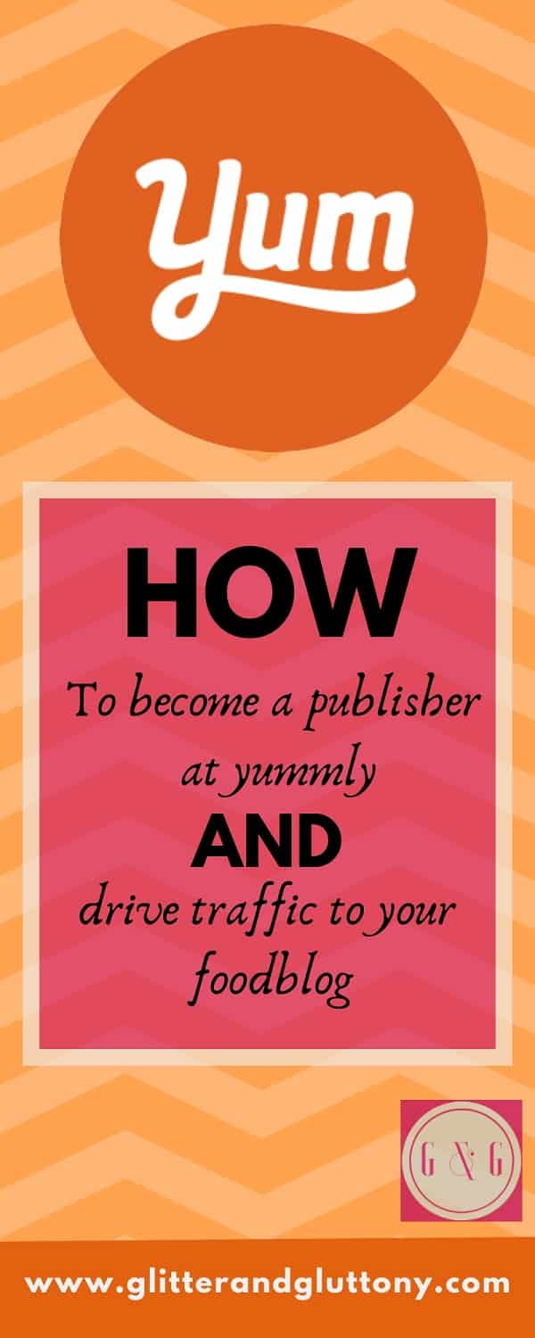how to become a publisher at yummly
