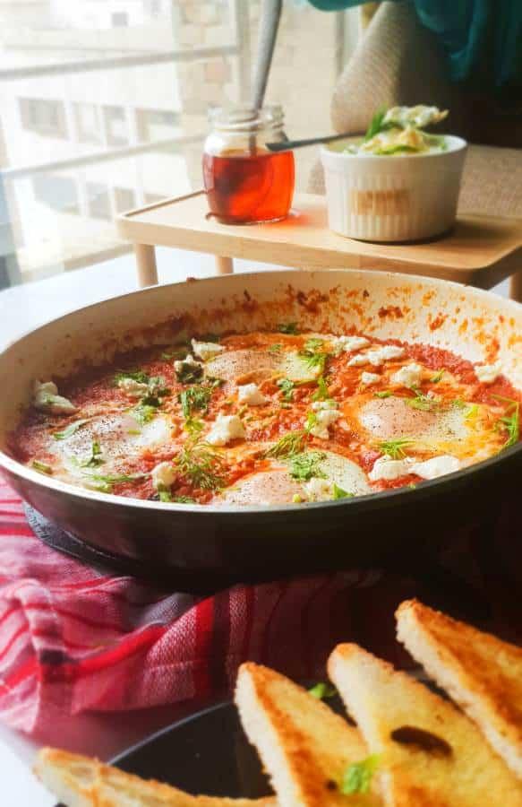 how to make Easy Shakshuka Recipe indian
