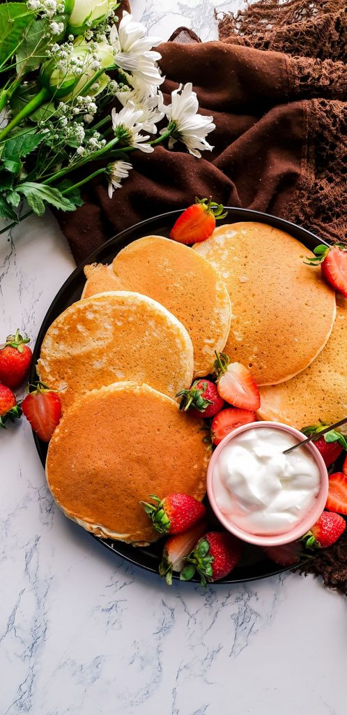 easy recipe for pancakes from scratch
