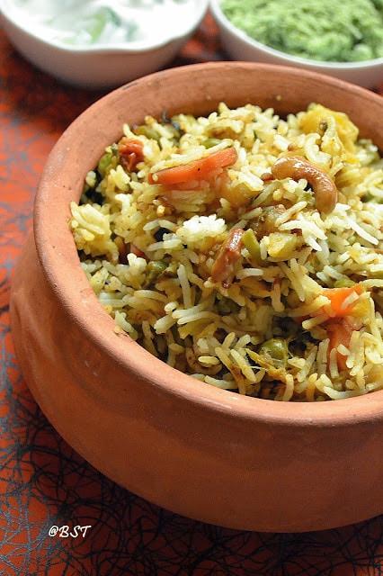 malabar vegetable biryani