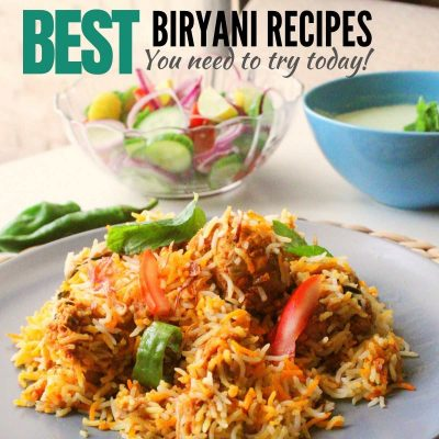 best biryani recipes