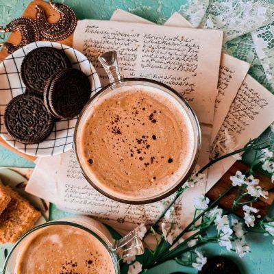 phitti hui coffee or indian whipped coffee in a mug