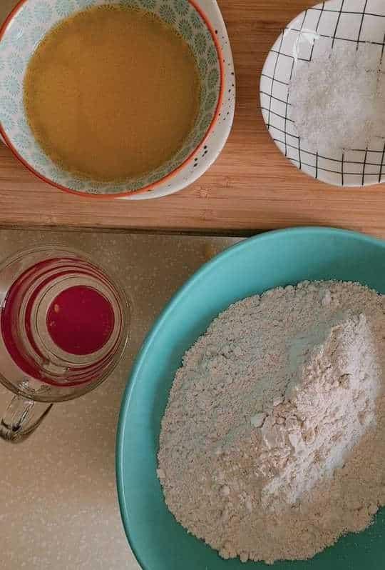 ingredient to make paratha dough